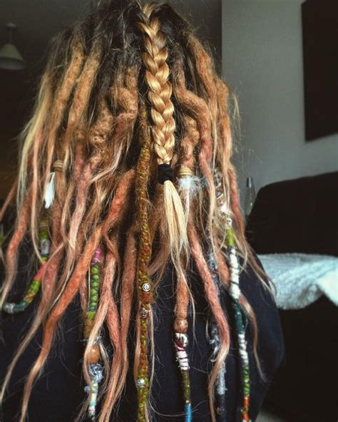 colored dreadlocks best 25 colored dreads ideas on