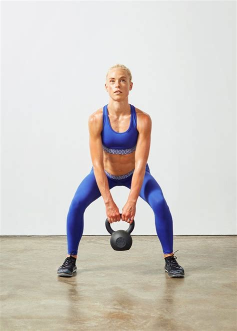 kettlebell core exercises swing workout squats