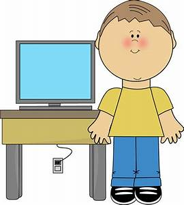 Kids On Computers Clipart - Cliparts.co