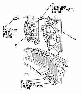 93 Honda Civic Radiator Diagram