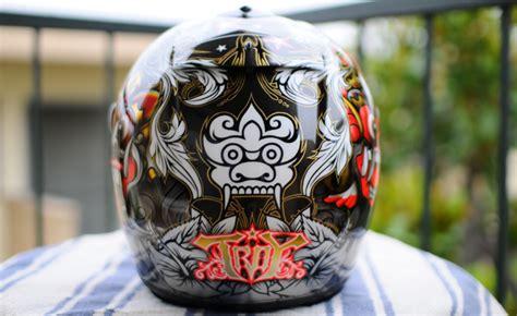 trizzles  tattoos  helmets
