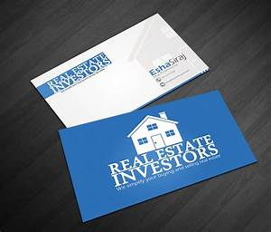 Real Estate Business Card Design for a Company by Hammad ...
