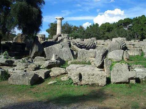 traveling  greek islands statue  zeus olympia