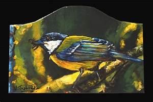 Peinture Acrylique Sur Bois Technique Peinture Sur Plaque De Porte