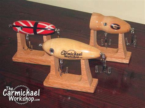 display custom  antique fishing lures   nice wooden
