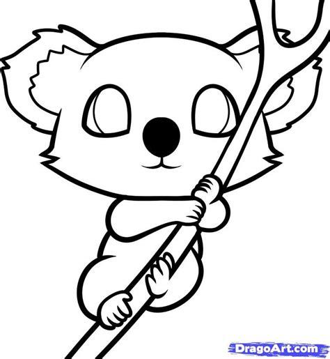 draw  koala  kids step  step animals
