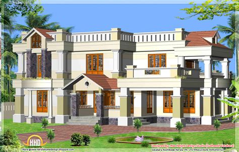 7 beautiful Kerala style house elevations - Kerala home