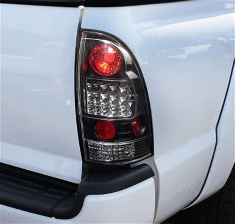 2010 tacoma tail lights toyota tacoma 2005 2011 black halo projector headlights