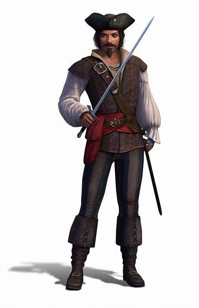 Pirates Medieval Sims Nobles Pirate Male