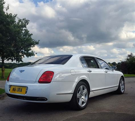 White Bentley by White Bentley Flying Spur Hire