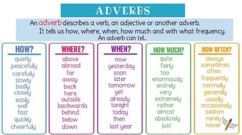 adverb im englischen einfach erklaert