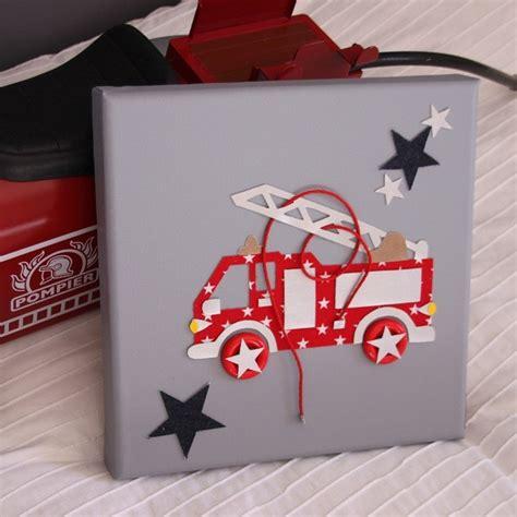 tableau camion pompier gris