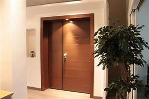 Porte Blindée Maison : la porte blind e s curit optimale coupl e la finition ~ Premium-room.com Idées de Décoration
