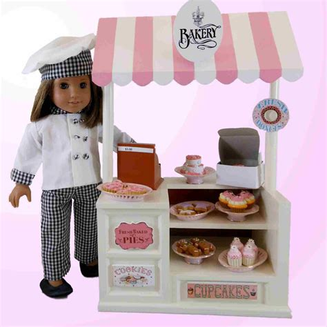 girl accessories 6 cookie set for 18 quot american girl doll kitchen