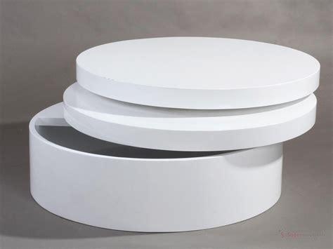 table basse ronde laqu 233 e extensible tolos tables basses tables et salons