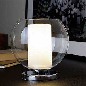 Kerze In Glas : kerze im glas tischleuchte aus klarem und satiniertem glas wohnlicht ~ Sanjose-hotels-ca.com Haus und Dekorationen