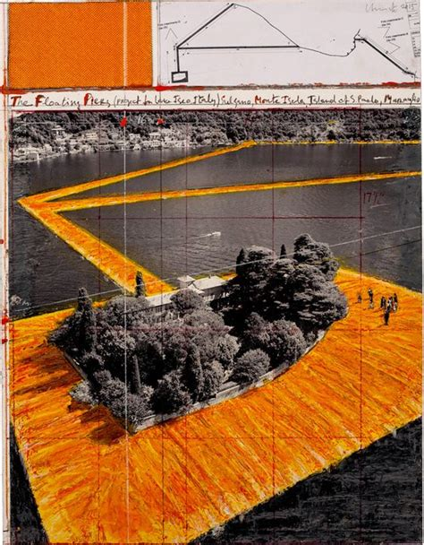 Christo Floating Piers (project For Lake Iseo, Italy