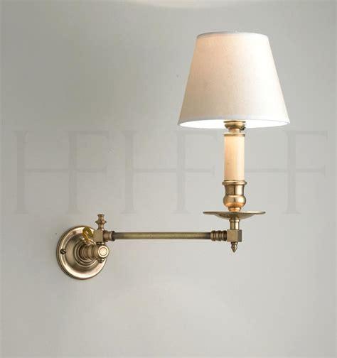 swing arm light wall mount lamp design adjustable image