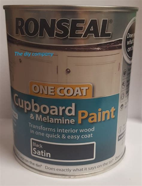 Ronseal Cupboard Paint by Ronseal Cupboard Paint 750ml All Colours