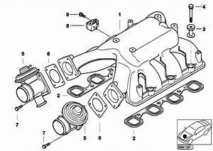 Original Parts For E38 740d M67 Sedan    Engine   Intake Manifold System Agr