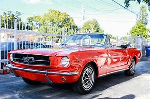 1965 Ford Mustang Convertible Red