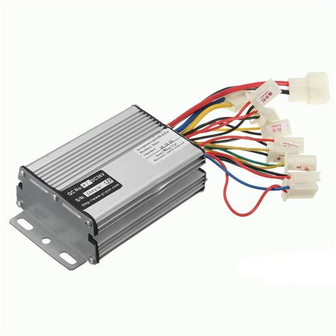 36v 48v 500w 800w 1000w electric scooter motor brush speed controller for vehicle bicycle bike
