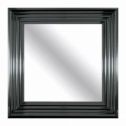 Mirrors Mirror Square Framed Hanging Beveled Patton