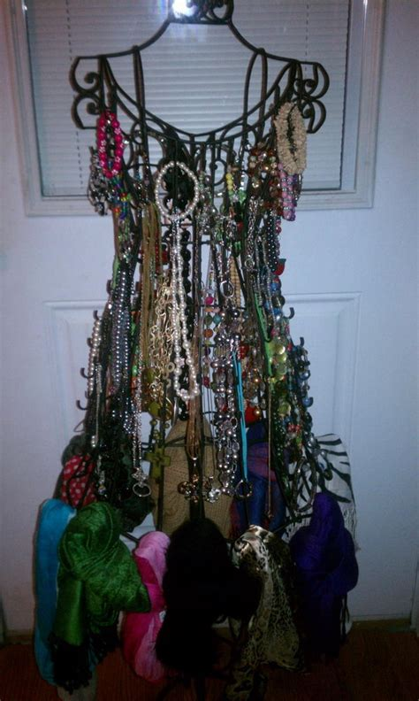 creative scarf storage display ideas