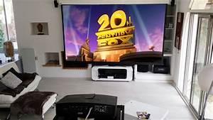 Projecteur Home Cinema : home cin ma dans un s jour coudert ~ Preciouscoupons.com Idées de Décoration