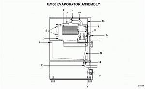Manitowoc Qm30a Ice Machine Parts Diagram