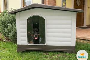 Finding the right size of dog house love ferplast for Best dog door for winter