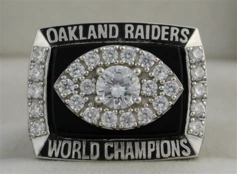 1976 Oakland Raiders Nfl Super Bowl Championship Rings Ring