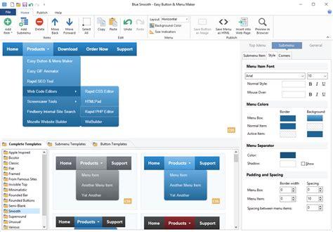 easy button menu maker create web buttons  menus