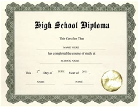 free high school diploma diploma free templates clip wording geographics