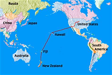 map  fiji   zealand travelquazcom