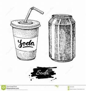Image Gallery soda sketch