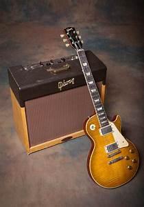 1959 Gibson Les Paul Standard  U0026 1958 Ga-40 Les Paul Amp