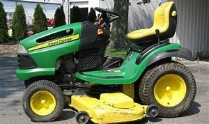 John Deere 125 Riding Mower Manual