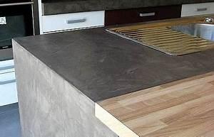Beton Pour Plan De Travail : tous les kits b ton cir pour plan de travail en bois ~ Premium-room.com Idées de Décoration