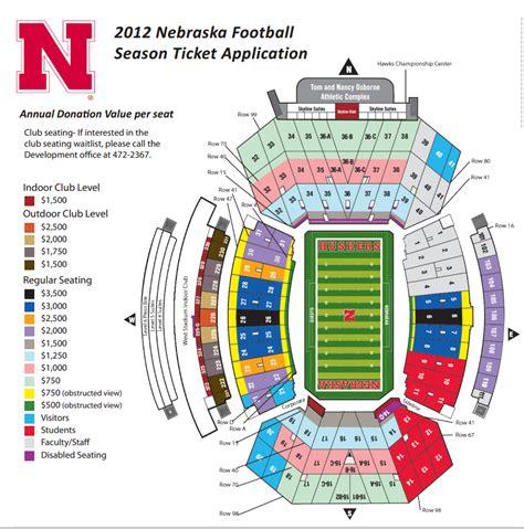 nebraska football season ticket minimum donation levels collapse corn nation