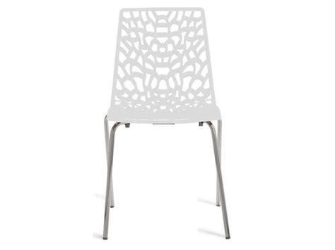 chaise groove 2 coloris blanc conforama pickture