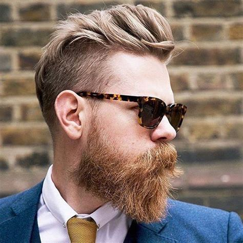 17 Blonde Beard Styles   Men's Hairstyles   Haircuts 2018