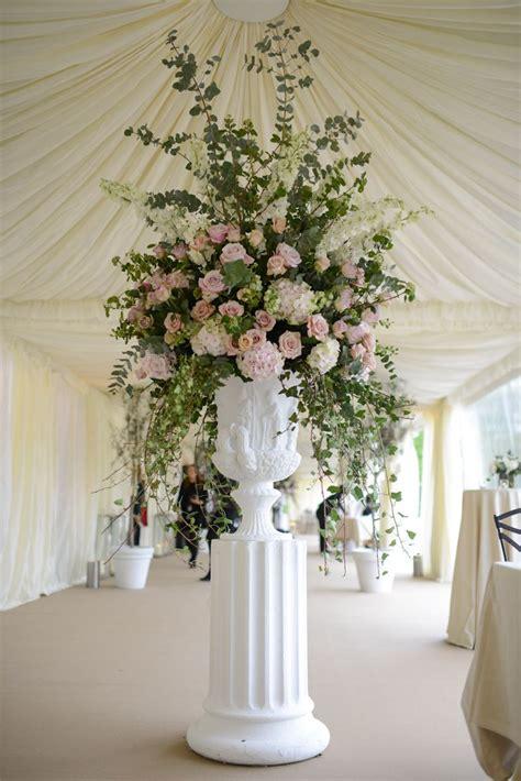 formal wedding arrangement   tent marry