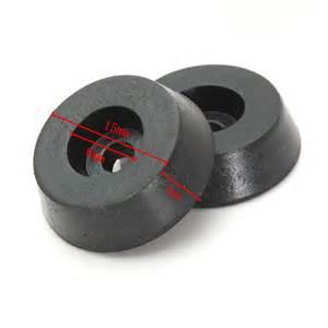 20pcs rubber table chair furniture leg pads tile floor protectors black