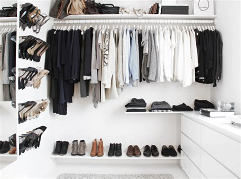Organized Closet On A Budget  Simplified Bee