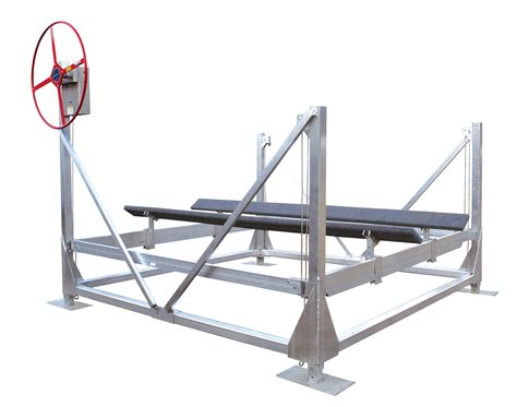 Vertical Boat Lift Cable Routing by Vertical Lifts