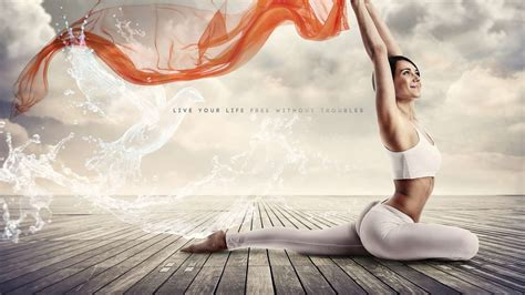 Yoga Quotes Pc Backgrounds Quotesgram