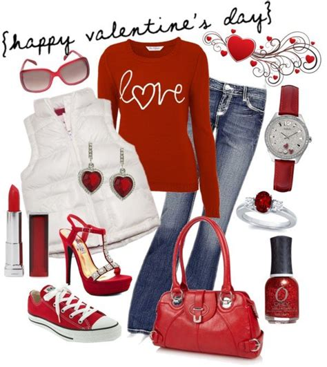 16 Casual Polyvore Outfits 2016 For Valentineu0026#39;s Day Fashion Craze