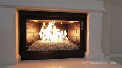 replace fireplace insert doors how to install an h burner and glass in your