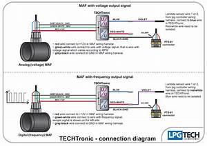 Lpgtech Techtronic Maf Signals Converter For Valvetronic